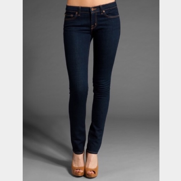 J Brand Denim - J Brand Low-Rise Petite Pencil Leg Jeans Ink 27